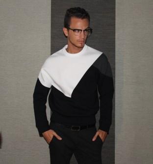 Neil Barrett Modernist Sweatshirt - F/W 13