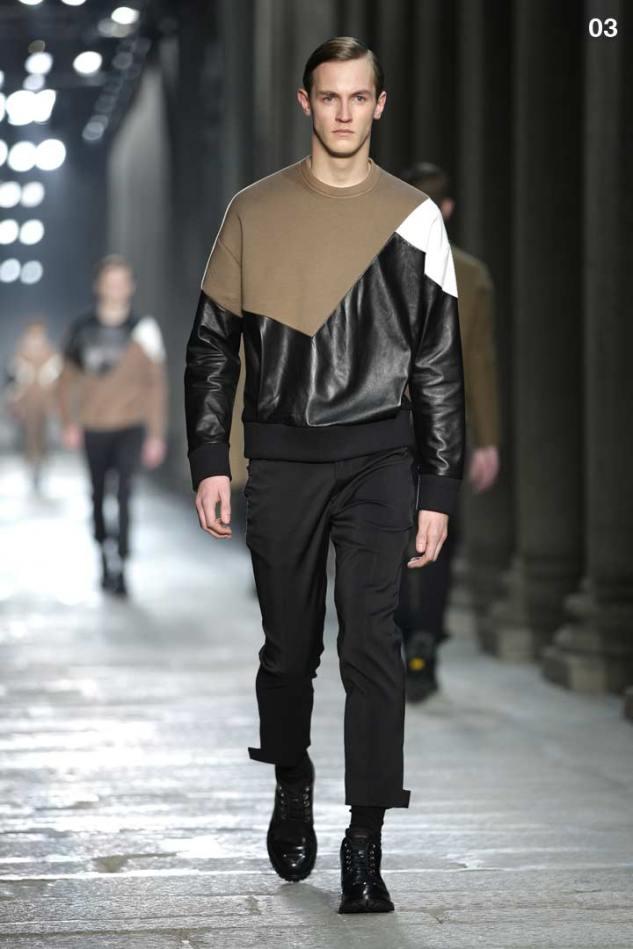 Neil Barrett F/W 13 Modernist Sweatshirt