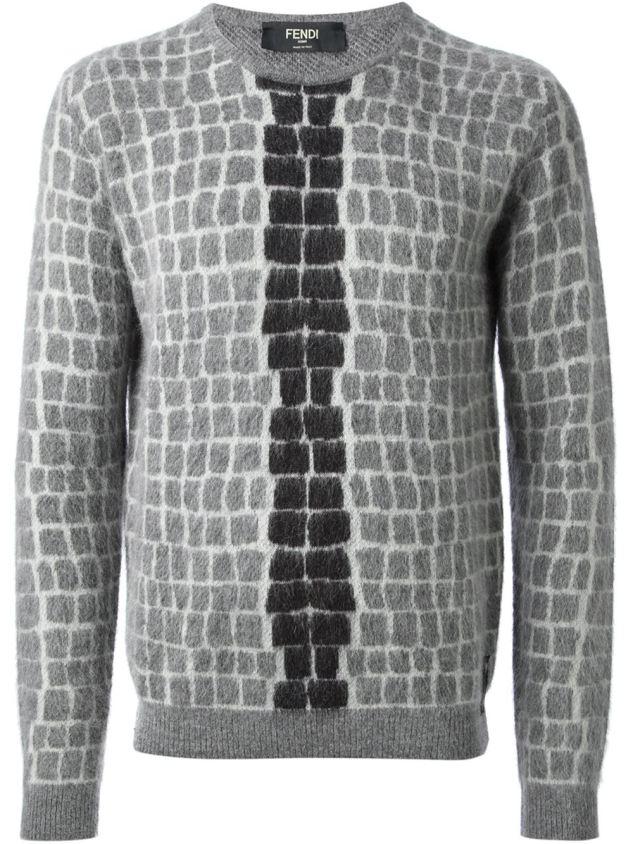 fendi mohair sweater