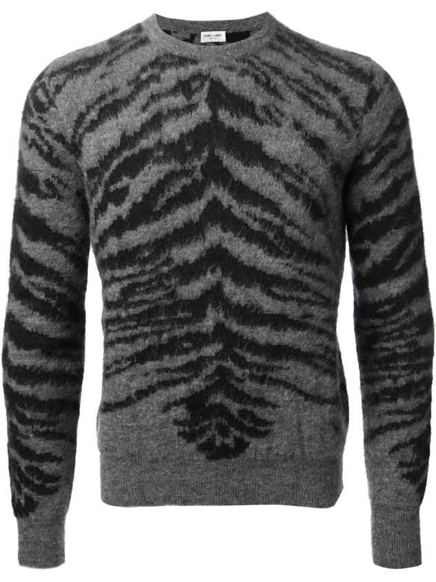 saint laurent mohair sweater