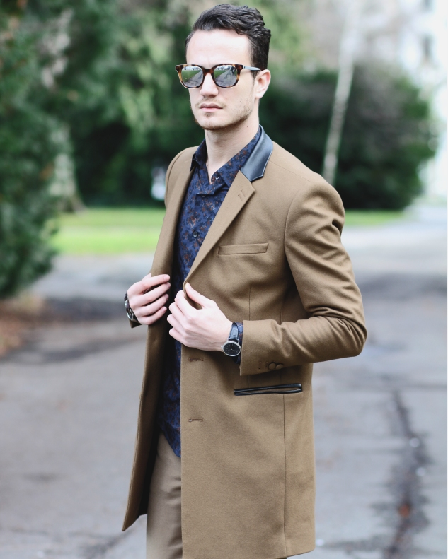 dior homme black tie sunglasses infashionity menswear fashionblog