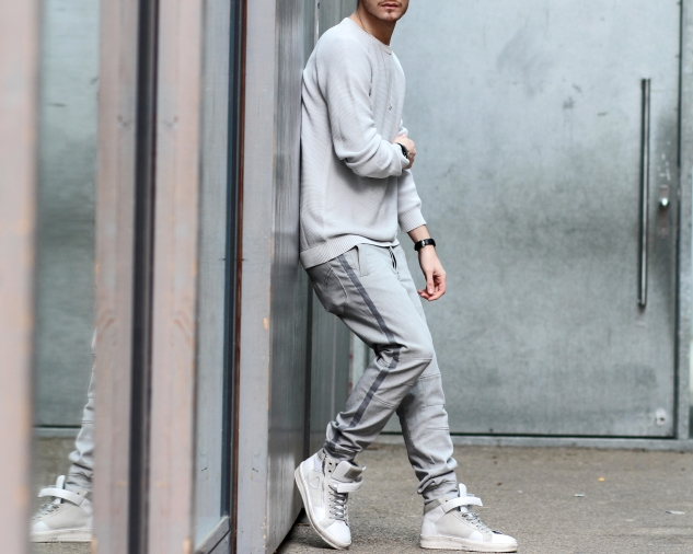 infashionity menswear fashion blog henri balit strellson casual sneakers trackpants