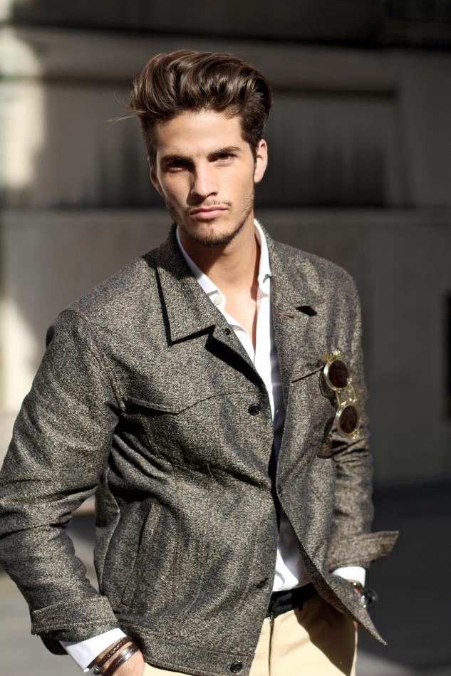 infashionity menswear platform styling photography henri balit model david santos square agency fall outfit men's fashion blog portrait male model