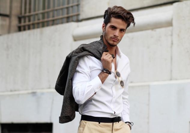 infashionity menswear platform styling photography henri balit model david santos square agency fall outfit men's fashion blog male model portrait