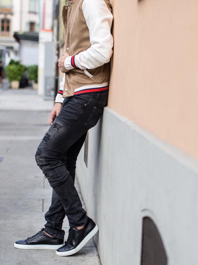 infashionity menswear fashion blog swiss henri balit photography styling varsity jacket