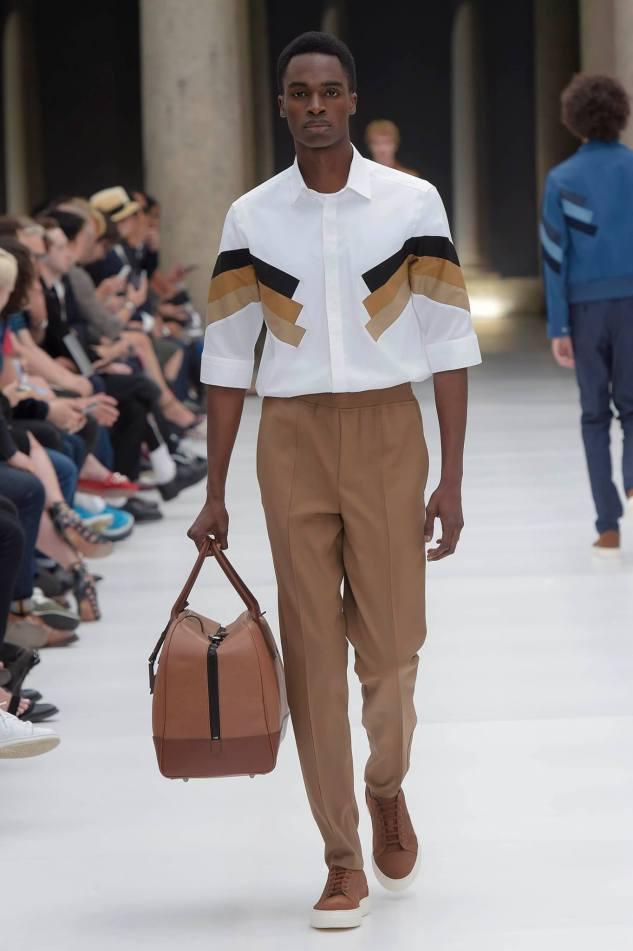 neil barrett shirt look 38 spring summer 2017 menswear infashionity fashion blog