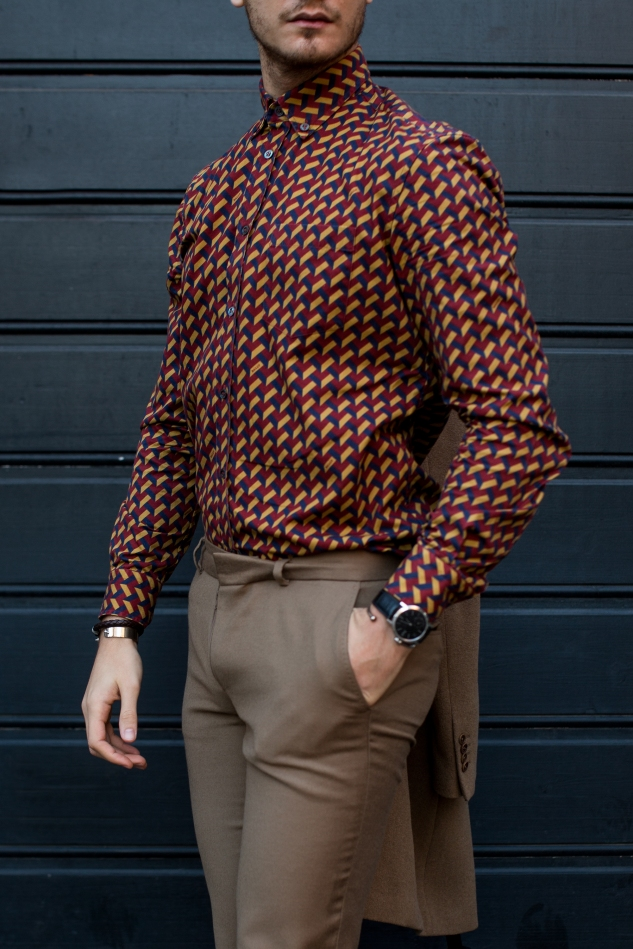infashionity swiss men's fashion blog styling bally graphic shirt fall style