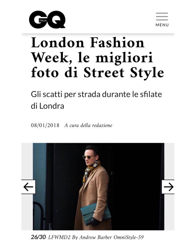 henri balit infashionity men's fashion blog london fashion week men street style january gq italia 2018