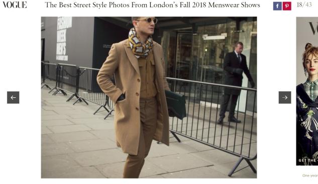 henri balit men's fashion blog infashionity street style london fashion week men january 2018 vogue
