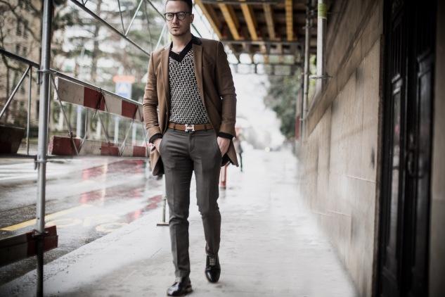 infashionity menswear fashion blog camel coat streetstyle swiss blog henri balit photography
