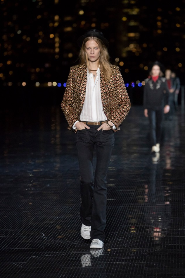 saint laurent menswear spring summer 19 collection anthon vacarello infashionity review