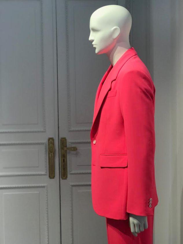 versace ss19 fuschia suit menswear